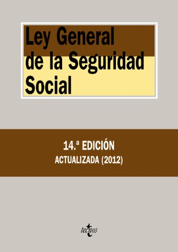 ley-general-de-la-seguridad-social-derecho-biblioteca-de-textos-legales