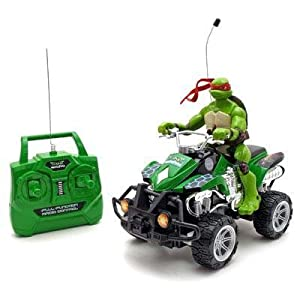 Radio Control Teenage Mutant Ninja Turtle ATV Rider (Raphael)