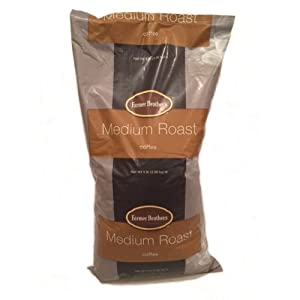 Farmer Brothers Ground Coffee - Medium Roast, 5 Lb. Bag by Farmer Brothers