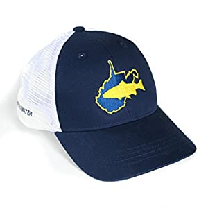 Rep Your Water Hat West Virginia - Navy/White