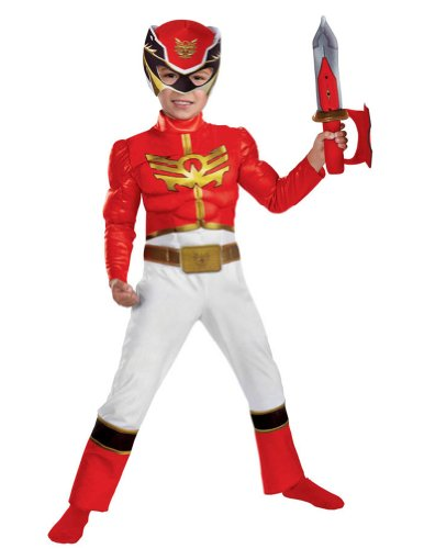 Disguise - Red Ranger Megaforce Toddler Costume 2T Halloween Costumes - 2T