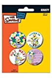 SIMPSONS - Badges Krusty le clown