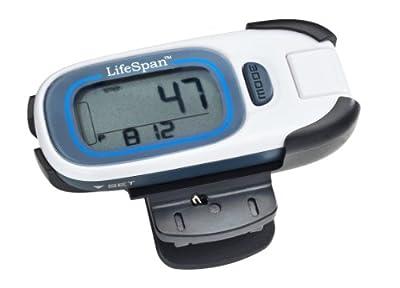 Lifespan Mystride Activity Tracker White Small from LifeSpan