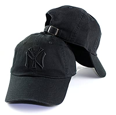 New York Yankees MLB American Needle Tonal Ballpark Slouch Cotton Twill Adjustable Hat