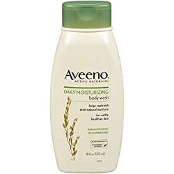 Aveeno Active Naturals Daily Moisturizing Body Wash with Natural Oatmeal 18 Ounce