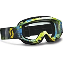 Scott USA 89Si Pro Youth Goggles , Distinct Name: Tangent Blue and Green/Clear Lens, Primary Color: Blue, Gender: Boys, Size Segment: Youth 219810-3605041