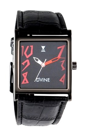 DVINE Black Dial Women's Watch CF1011NL RD02