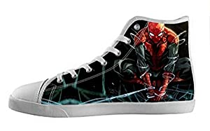 Movie Spider-Man Women's High Top Canvas Shoes-5M(US)