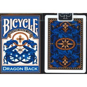 Best Deals! Bicycle Blue Dragon Back Playing Cards