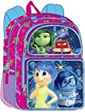 Disney Pixar Girl's Inside Out 16 Large Backpack School Bag