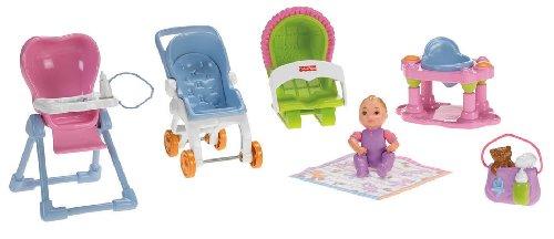 41a4dxf0wHL Cheap  Fisher Price Loving Family Everything for Baby