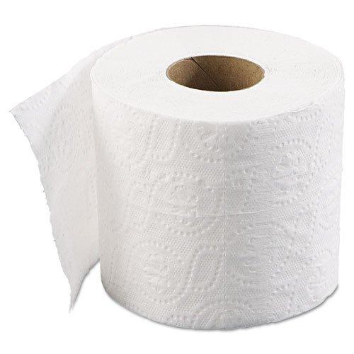 Boardwalk Bathroom Tissue, Standard, 2-Ply, White, 4 x 3 She