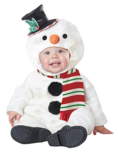 California Costumes Baby-Boys Infant Lil' Snowman, White, Large(18-24M) - 1