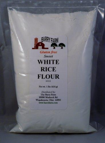 Sweet White Rice Flour, 1 lb.