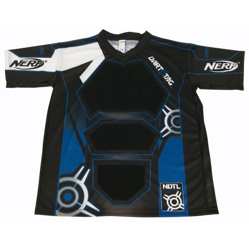 Nerf Dart Tag Official Competition Jersey (Large Blue) - 1