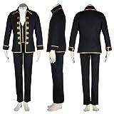 Gintama(SilSoul) Cosplay Costume - Shinsengumi Captain Uniform Kid Large