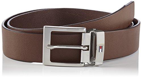 Tommy Hilfiger ADJUSTABLE BELT-Cinturón Hombre Braun (TESTA DI MORO-EUR 966) 95 cm