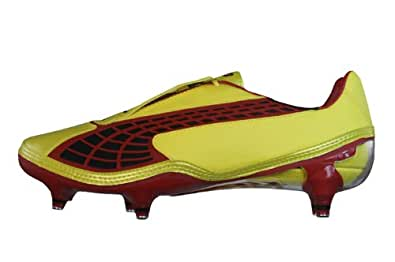 Puma V1.10 SG Mens soccer Boots / Cleats - Yellow - SIZE US 7