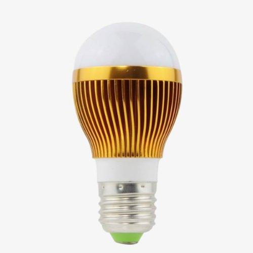 E27 3W Led Light Bulb White Ac(85V To 265V) Source(High Performance Led)