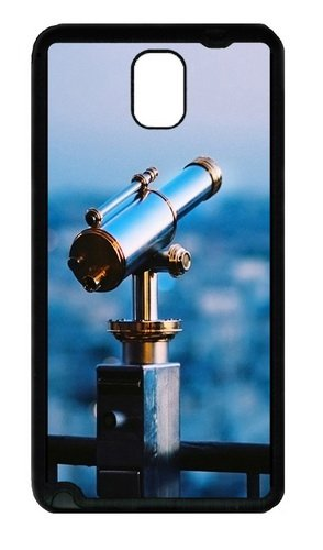 Astronomical Telescope Custom Designer Samsung Galaxy Note 3 / Note Iii/ N9000 - Tpu - Black
