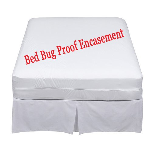Sale!! Lab Certified Waterproof Bed Bug Proof Queen 60x80x9-12Inches Mattress Encasement Protector C...