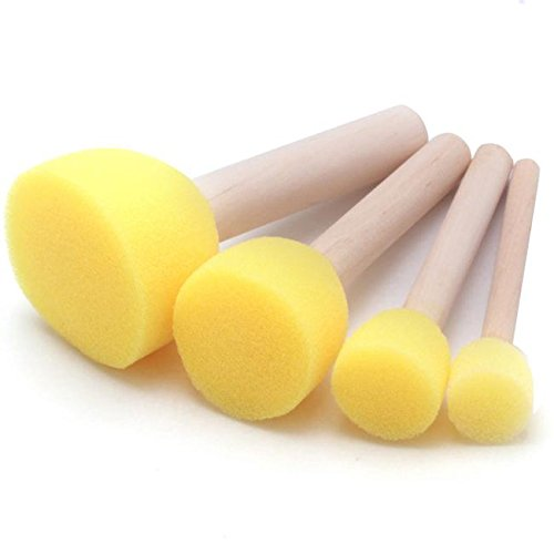 xinw-4pcs-sponge-stippler-stencil-foam-brush-dabber-furniture-art-painting-tool
