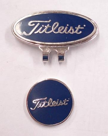 Buy Japan titleist magnetic golf ball marker   hat clip (blue) Now 6b17c00d8d0a