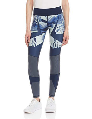 Adidas Wow Drop1 Tight Collant, Blu (Azuuti/Maruni), XS