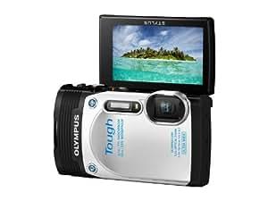 """Olympus TG-850 Appareil photo numérique compact 16 Mpix Écran 3"""" Zoom optique 5x Étanche Blanc"""