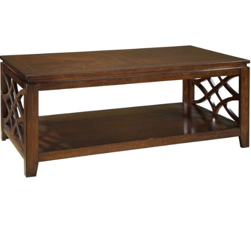 Woodmont Coffee Table in Brown Cherry