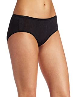 Vanity Fair Women's Illumination Hipster Panty, Black, 5