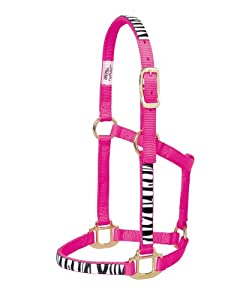 Weaver Leather Non-Adjustable Pony Untamed Halter, Diva Pink