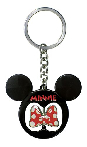 Disney Minnie Icon - Bow Spinner Key Ring - 1