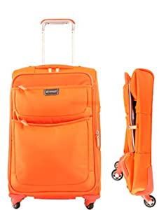 Biaggi Contempo Foldable 22 inch 4-Wheeled Expandable Upright Luggage
