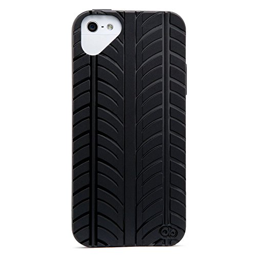 Olo Fashion Tread, Custodia per Apple iPhone 5 Black