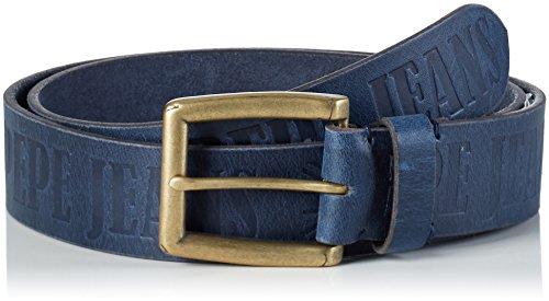 Pepe Jeans Sauco Belt, Cintura Uomo, Blu (Dk Blue), 105 cm (Taglia Produttore: 105)