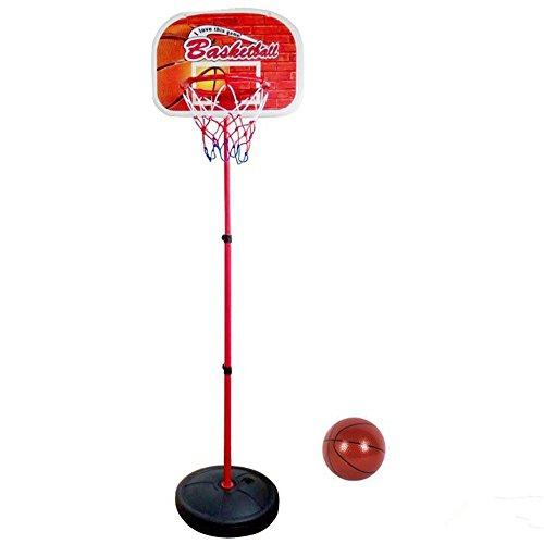 Canestro da Pallacanestro Set da Basket Gioco Indoor & Outdoor Sport Giochi All'aperto Regolabile e Trasportabile per Bambini