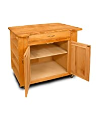 Catskill Craftsmen Deep Storage Island with Special Top by Catskill+Craftsmen