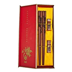 Chinese Chopsticks, Gift Set of Chinese Chinese Chopsticks by Feng Shui Import