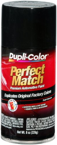 Dupli-Color BUN0100 Universal Gloss Black Exact-Match Automotive Paint - 8 oz. Aerosol (2008 Toyota Yaris Paint compare prices)