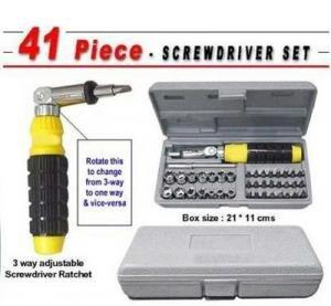 Unique-Gadget-41-PCs-Tool-Kit-Screw-Driver-Set