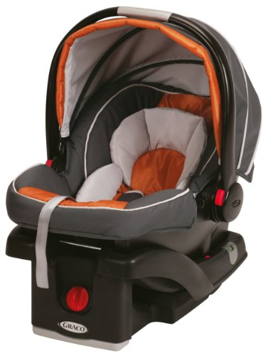 Graco SnugRide Click Connect 35 Car Seat, Tangerine image