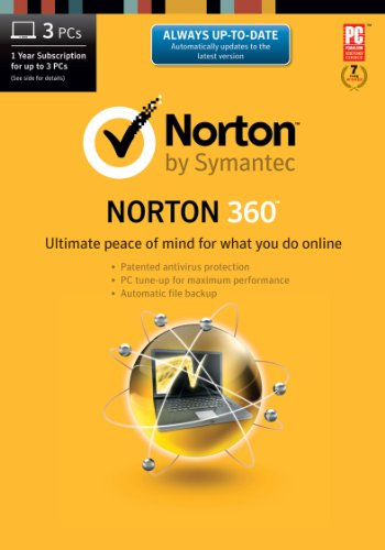 Norton 360 2014 - 1 User / 3 Licenses [Download]