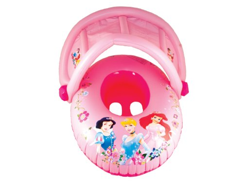 Swimways Sun Canopy Baby Float - Disney Princess