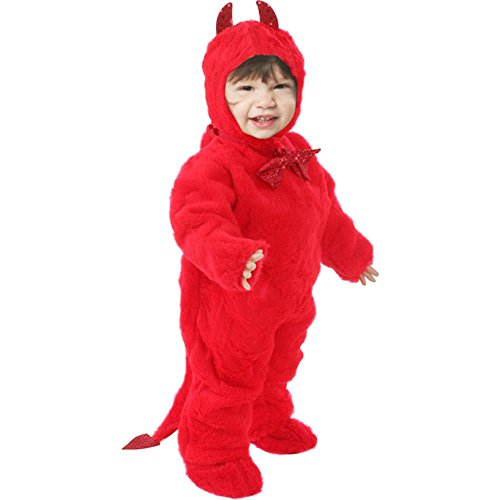 Child's Toddler Plush Devil Halloween Costume (2-4T)