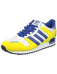Adidas Men's ZX 700 , YELLOW/CROYAL BLUE/WHITE