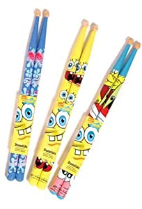 JHS &amp; Co Ltd Spongebob Drum Sticks - Junior from SpongeBob Squarepants