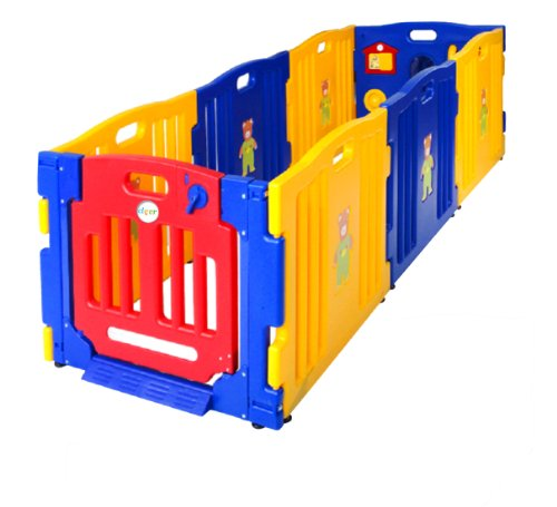 New Baby Kids Safety Playpen 8 Panel Play Center Home Indoor Playzone Yard Outdoor Pen