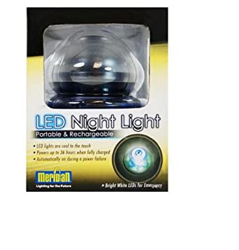 Meridian LED Portable & Rechargeable Night Light