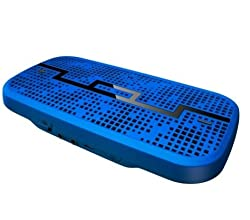 SOL REPUBLIC DECK Wireless Bluetooth Speaker - Gunmetal Blue